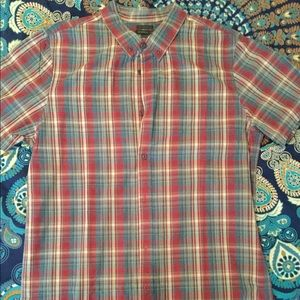 O'Neil Short Sleeve Button Up Tailored Fit XXL